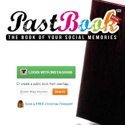 PastBook.com – сервис для создания социальных фотоальбомов