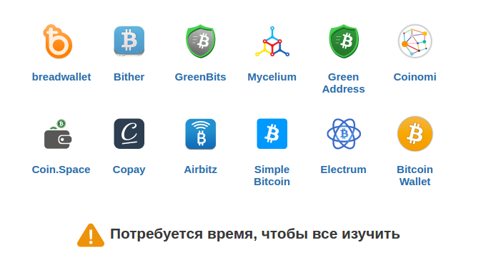 Кошельки биткоин для платформы Андроид