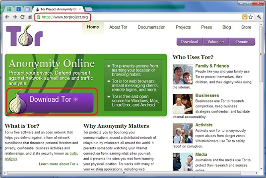 Tor установка браузера