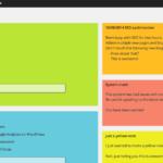 Как добавить записки в админку WordPress сайта