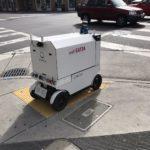 Роботы по доставке еды