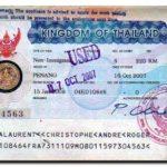 Тайские визы: в Таиланд на длительный срок