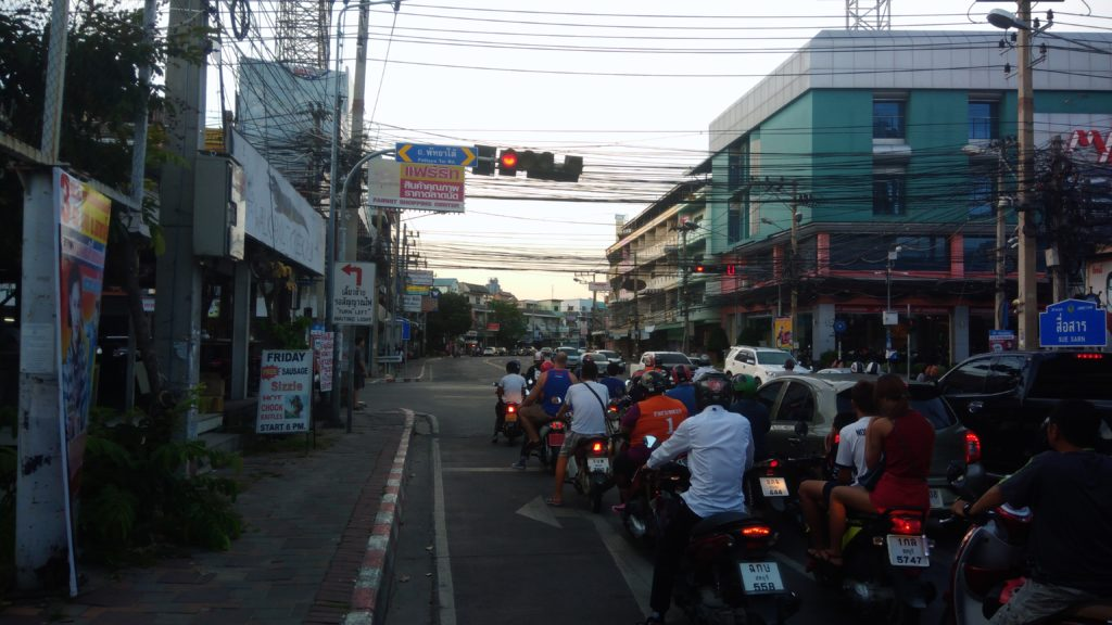 Вождение в Таиланде