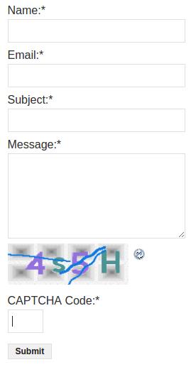Fast Secure Contact Form форма обратной связи WordPress