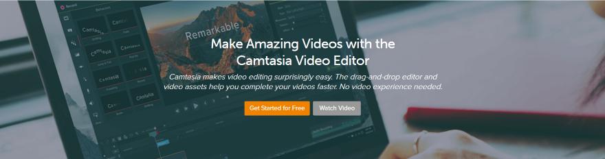 Редактор видео Camtasia