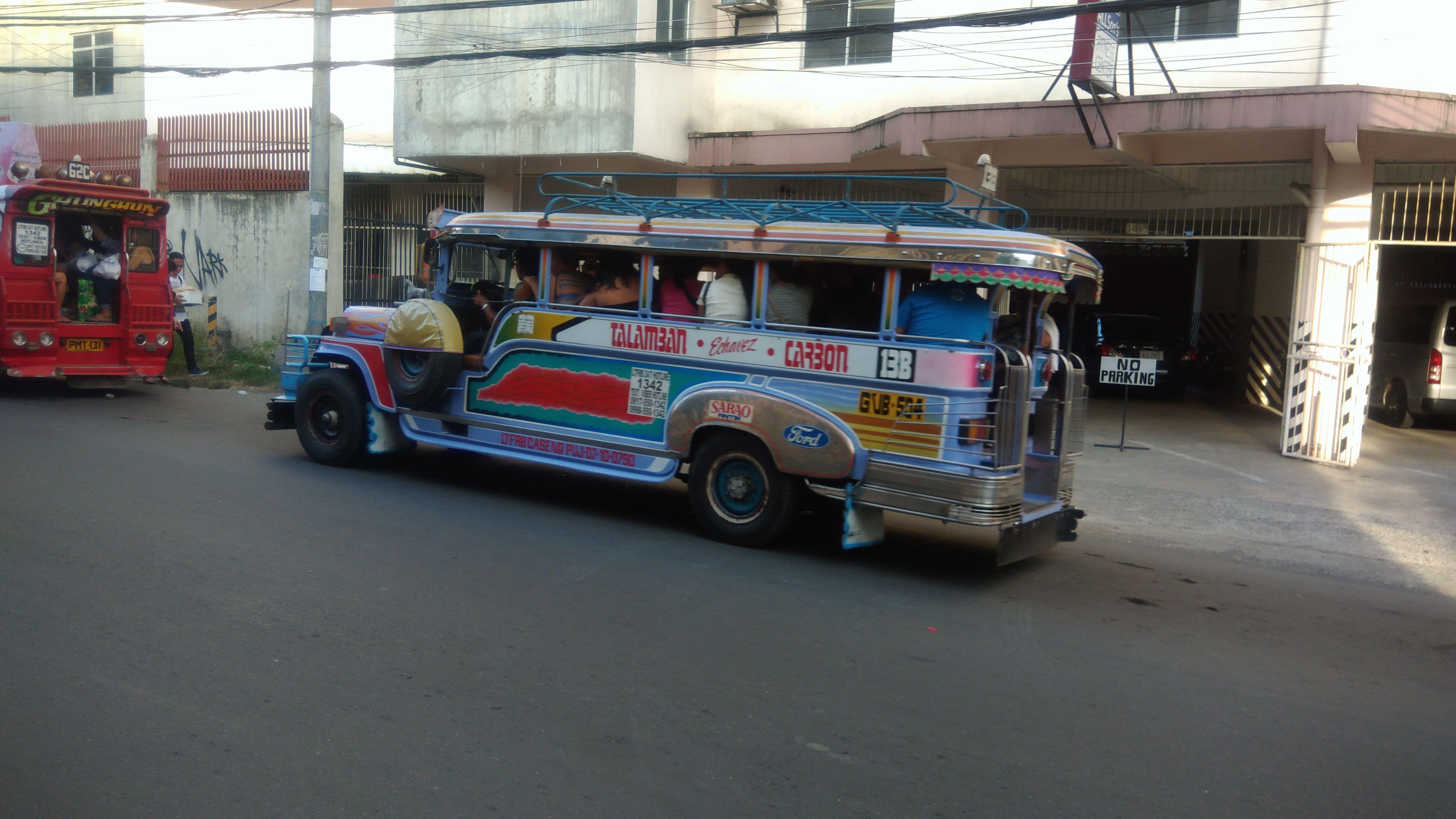 Себу Сити, Филиппины - джипни