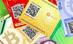 Как создать бумажный биткоин-кошелек