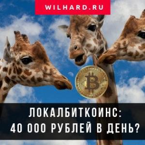 Сколько можно заработать торговлей на LocalBitcoins: 40 тыс. руб. в день?